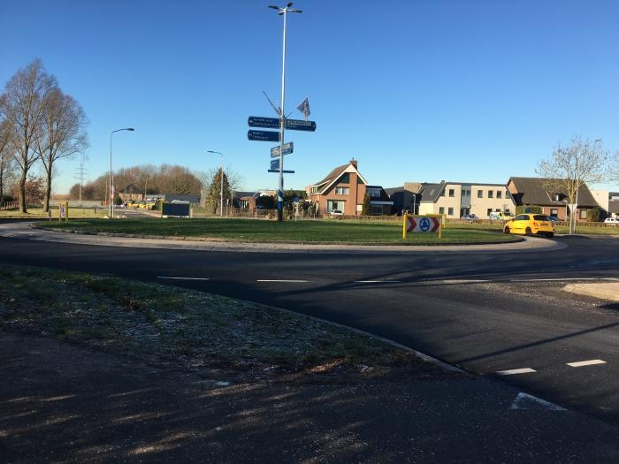 Rotonde Bievankweg-Beekseweg-Ruigenhoek