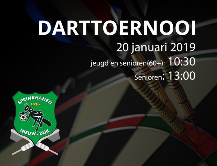 Sprinkhanen darttoernooi 2019