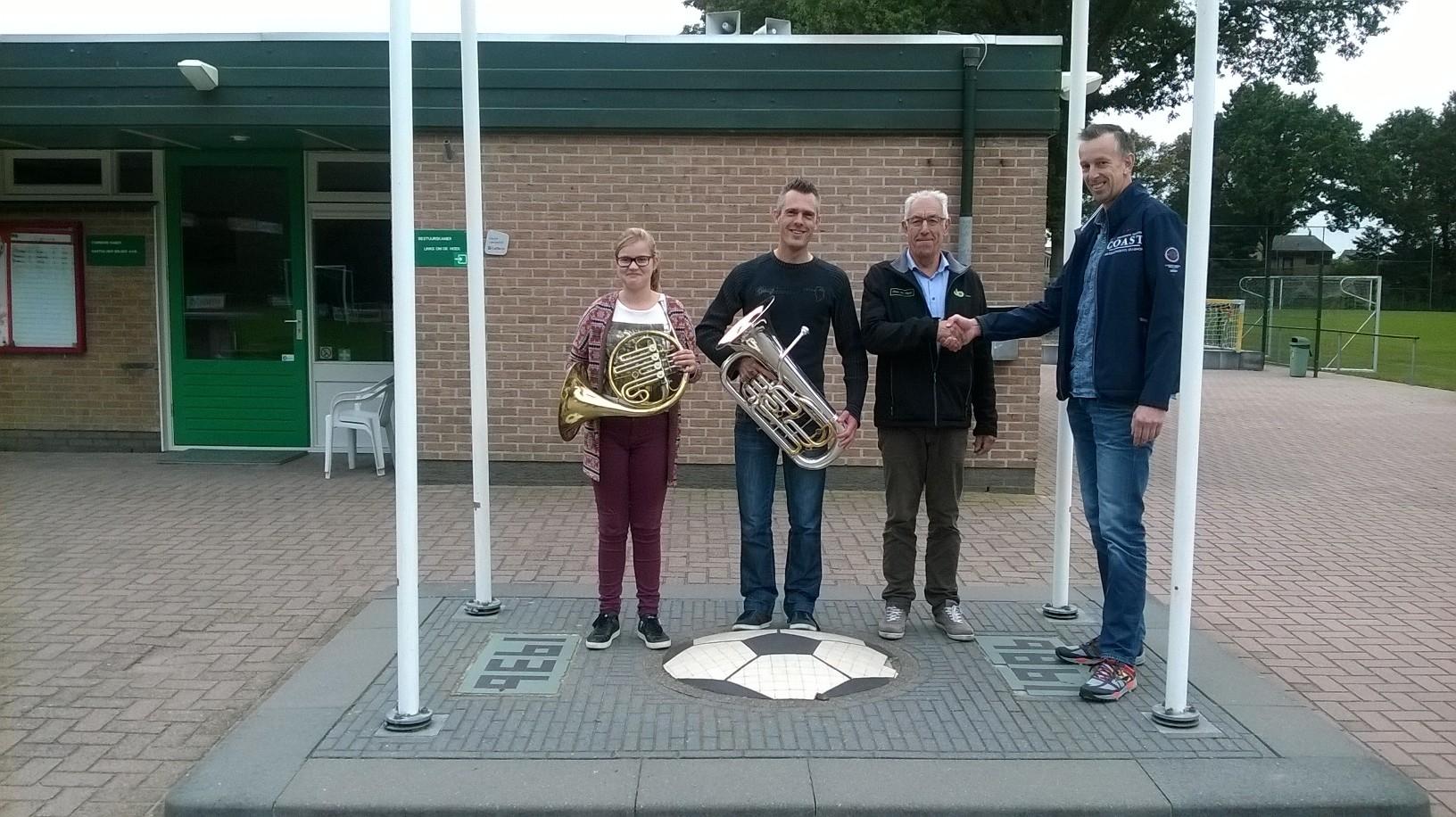 Muziekles op Sportpark de Meikamer!
