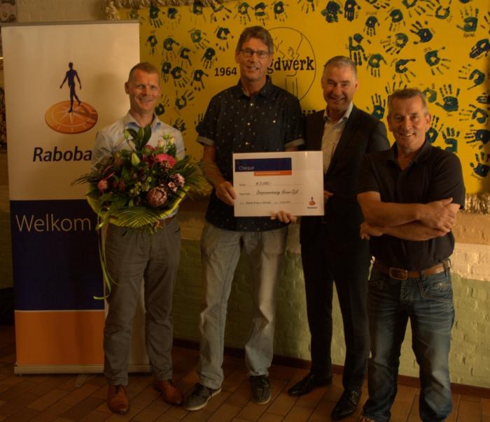 Bijdrage Rabobank Stimuleringsfonds voor verbouwing Dorpshuis de Meikever